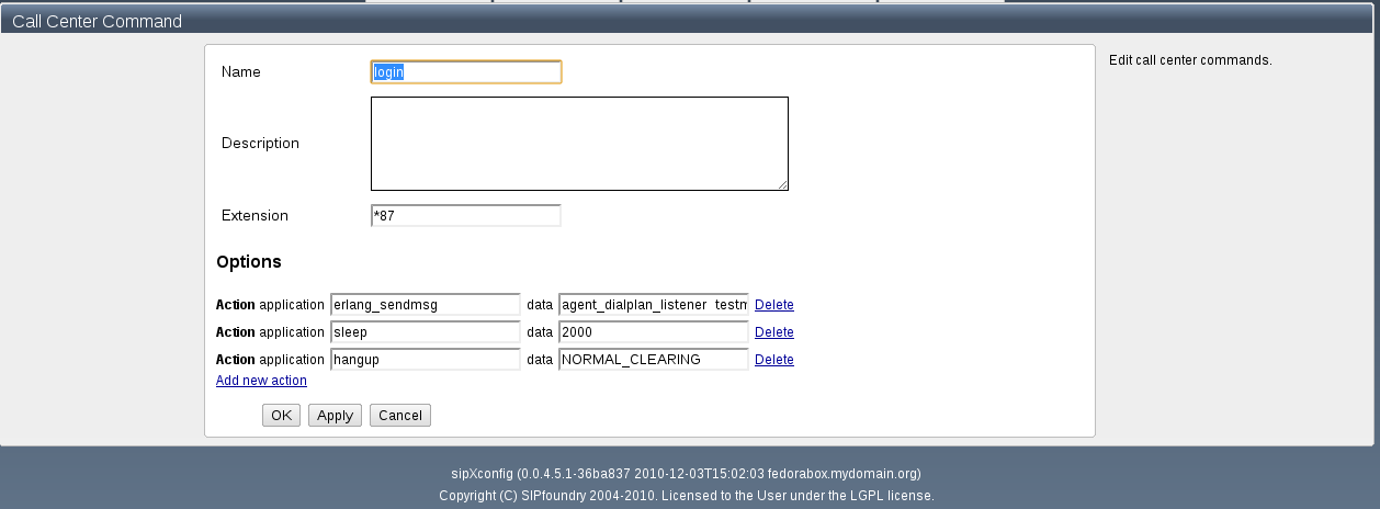 OpenACD Setup - sipXcom - Documentation Wiki
