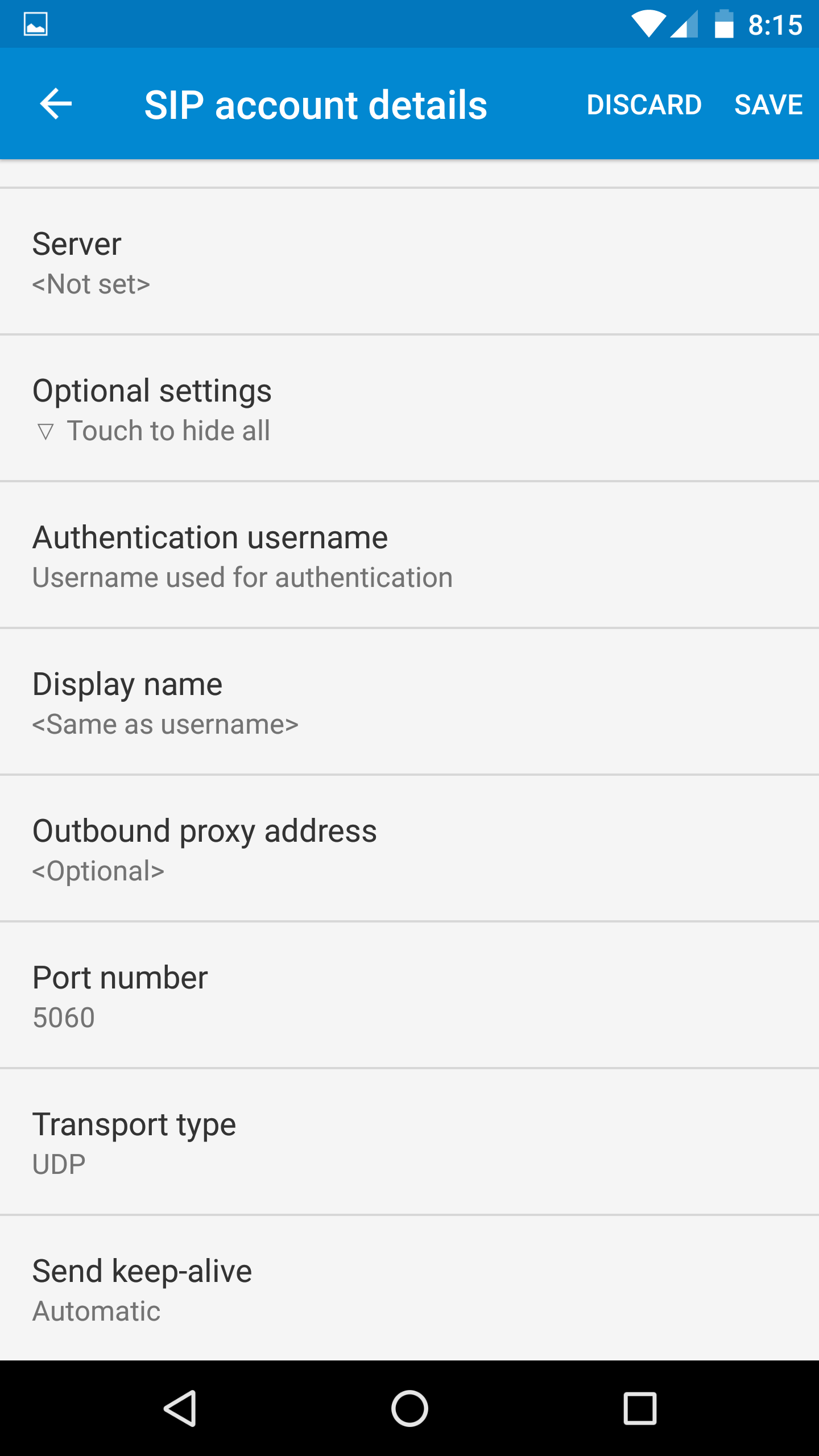 Android Integrated SIP Calling - sipXcom - Documentation Wiki