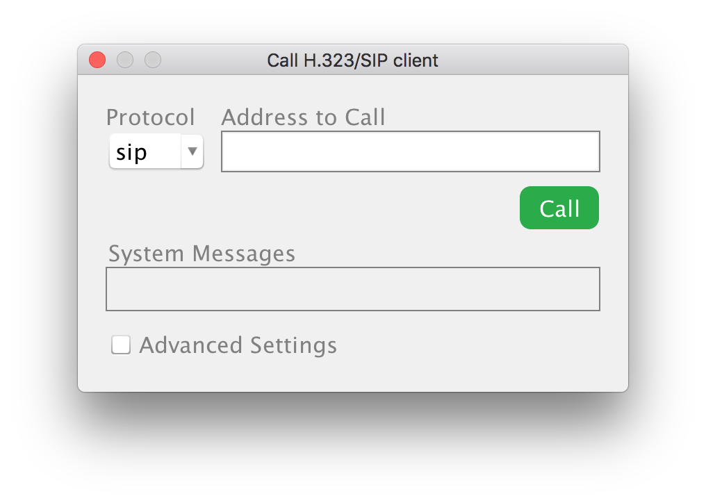 Call H 323/SIP client - eZuce - Global Site
